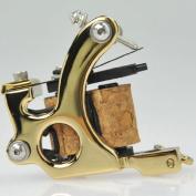 Premium Copper Wire Coils Tattoo Machine Liner & Shader, Gold, OTW-M301-3