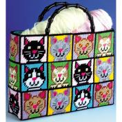 Cat Plastic Canvas Bag - Tapestry Kit