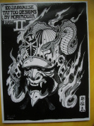 Japanese Tattoo designs books /Tattoo Flash Book 29cm from Yuelong supply #TB-214-4