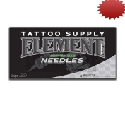 Element Curved Magnum MAG Shader Tattoo Needles 50 Pack Available in Many Different Sizes - 5, 7, 9, 11, 13, 15