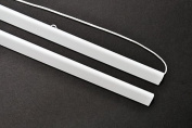 White Poster Hanger Set For 36 Inch Posters With Cord - 93 cms