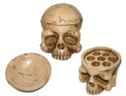 Skull Tattoo Ink Cup Holder