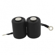 10 Wrap Black Rubber Wrapped Tattoo Machine Coil