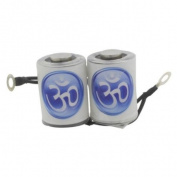 10 Wrap Vibrant Blue Om Tattoo Machine Coil