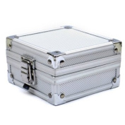 Aluminium Case Box with Clasp for Rotary or Coil Tattoo Gun Machine Grip Tip