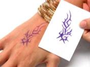 Beachcombers! Henna Tattoo Design Transfer Paper Stencil Maker, 10 sheets