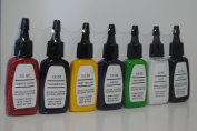Premium Tattoo Ink Set, 7 Colour 1/2 oz (15ml) each, OTW-A102