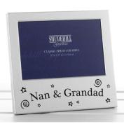 Nan & Grandad Photo Frame Picture Gift Portrait Christmas Anniversary