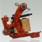 Premium Copper Wire Coils Tattoo Machine Liner & Shader, Red, OTW-M301-4