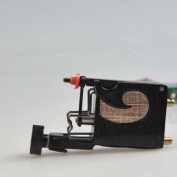 Premium Handmaded Rotary Tattoo Machine, Black & Gold, OTW-MD4-4
