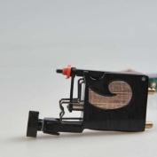 Premium Handmaded Rotary Tattoo Machine, Black & Gold, OTW-MD4-4