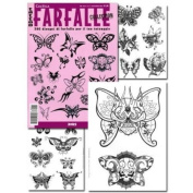 Tattoo Book of FARFALLE Various Butterfly Illustrations / Tattoo Flash Book Books / Tattoo Flash Art