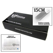 15 Bugpin CM Curved Magnum Mag Sterilised Tattoo Needles
