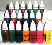 Iron Sakura Tattoo INK Pigment High Quality 20 Colours 15ml 1/2oz Each 20 inks