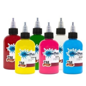 StarBrite TOP 6 PRIMARY Colour Sterile Tattoo Ink 15ml