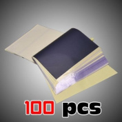 100 pcs Tattoo Supplies Hectograph Tracing Sheets SPIRIT Masters Stencil Transfer Paper pap-100