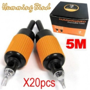 New Design 5M 1'' New Hummingbird Disposable Soft Precise Grip for Various Delight Tattooing 20pcs