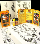 Jagua Kit (30ml Jagua) Over 70 Designs - Ready to Use