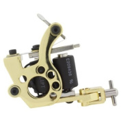 Gold Plated Stainless Steel CLASSIC DIALER Handmade Pro Tattoo Machine