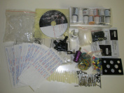 E Onsale Ordertattoo Simple Tattoo Kit with 100 Needles Gun Inks Tattoo Accessories SK100