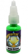 "Immortal Tattoo Ink ""NEON GREEN"" 120ml Bottles -Tattoo Supplies-"