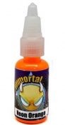 "Immortal Tattoo Ink ""NEON ORANGE"" 120ml Bottles -Tattoo Supplies-"