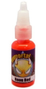 "Immortal Tattoo Ink ""NEON RED"" 120ml Bottles -Tattoo Supplies-"