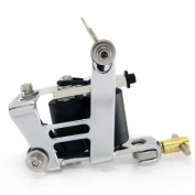 IMPULSE Dual Tattoo Machine 8 Wrap Coil LINER & SHADER Equipment Supply ink