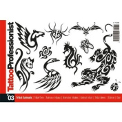 Tattoo Book of Tribal Animal Design Illustrations / Tattoo Flash Book Books / Tattoo Flash Art