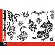 Tattoo Book of Tribal Animal Design Illustrations / Tattoo Flash Book Books / Tattoo Flash Art
