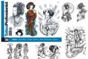 Tattoo Professionalist #9 Geisha Tattoos 80-Page Flash Book