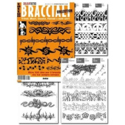Tattoo Book of ARMBAND Tattoos Bracciali / Tattoo Flash Book Books / Tattoo Flash Art