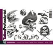 Tattoo Book of Various Skull Designs / Tattoo Flash Book Books / Tattoo Flash Art