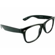 Kanye Black Clear Lens Wayfarer Style Glasses W/ Free Eyewear Cord