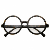 Vintage Inspired Eyewear Round Circle Clear Lens Glasses Eyeglasses
