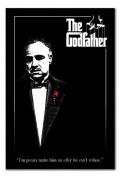 The Godfather Poster Black Framed - 96.5 x 66 cms