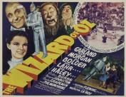 "Large VERY RARE 4930cm Wizard of Oz"" Vintage Movie Poster"