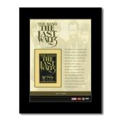 BAND - The Last Waltz - 28.5x21cm