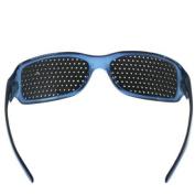 Pinhole glasses for eyesight strengthening - blue