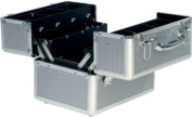 Beauty-Boxes St Tropez Silver Cosmetics and Make-up Beauty Case