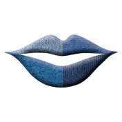 Trendy Denim Print Lip Wraps