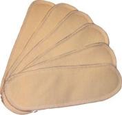 WillowPads Cloth Feminine Pads-Hemp Inserts 6 Pack Regular