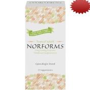 Norforms Tropical Splash Feminine Deodorant Suppositories, 12 Count