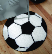 Catherine Lansfield Kids It's A Goal Rug, Multi