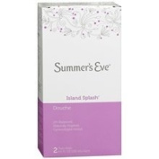 Summer's Eve Douche 2 Pack Island Splash 270ml