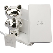 Silver-plated Bear Money Box