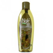 Nyle Herbal Hair Oil - Olive & Almond - 200 Ml