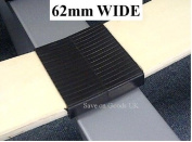 Plastic bed CENTRE slat holder. Slatt middle cap for wood/metal bed 62MM
