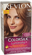 Revlon Colorsilk Luminista Light Carmel Brown (165), 4.4 Fluid Ounce