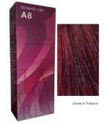 Berina Hair Colour Cream Permanent A08 -Burgundy colour